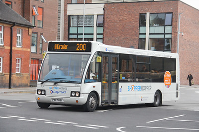 Stagecoach in Chester 47494 Chester Bus Station Sep 17