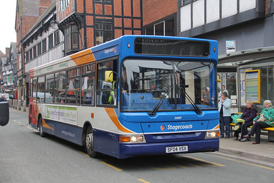 Stagecoach in Chester 34597 Foregate St Chester Apr 14