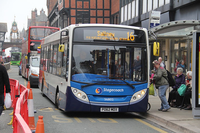 Stagecoach in Chester 36802 Foregate St Chester Apr 14