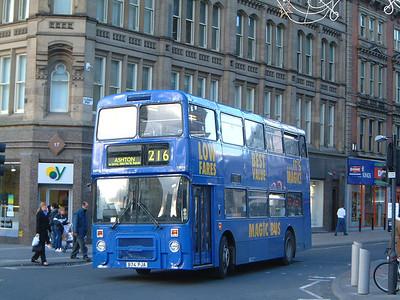 Stagecoach Man 13074 Piccadilly Mcr Nov 03