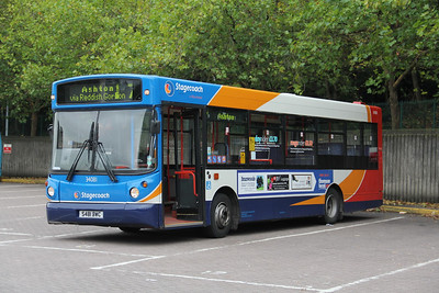 Stagecoach Man 34081 Stockport Bus Stn Oct 11