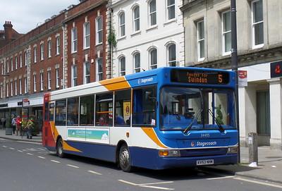 34495 - KV53NHM - Salisbury (Blue Boar Row)