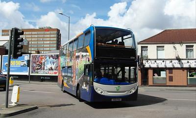 15734 - VX61FKH - Swindon (Manchester Road) - 16.8.13
