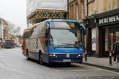 Stagecoach Oxford 53605 George St Oxford Dec 11