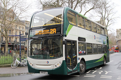 Stagecoach Oxford 12020 Magdalene St East Oxford 2 Dec 11