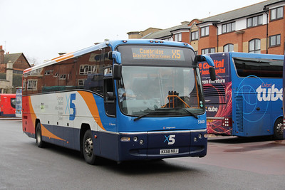 Stagecoach Oxford 53601 Oxford Bus Stn Dec 11