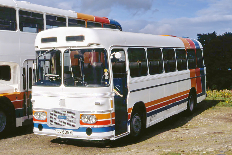 Stagecoach Scotland 002 Depot Spittalfield Aug 91
