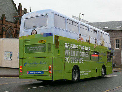 Stagecoach Scotland 16198 Mill St Perth 3 Oct 08