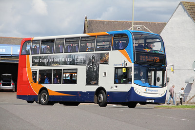 Stagecoach Strathtay 15817 Arbroath Bus Stn 1 Jul 12