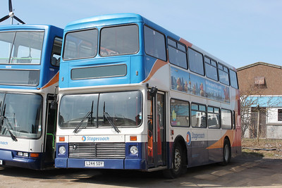 Stagecoach Strathtay 16244 Arbroath Depot Apr 10