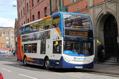 Stagecoach Strathtay 15817 Seagate Dundee 1 Jul 12