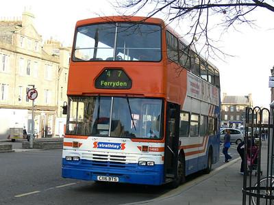 Stagecoach Strathtay 14683 High St Montrose 2 Oct 07