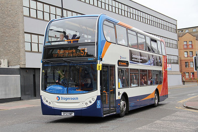 Stagecoach Strathtay 15817 Seagate Dundee Aug 12