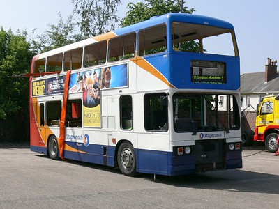 Stagecoach Western 10950 Kilmarnock Depot 1 Jun 07