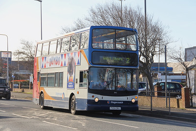 Stagecoach Cumbria 18142 Hindpool Road Barrow Mar 19
