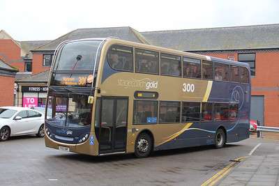 Stagecoach Cumbria 15921 Carlisle Bus Station Sep 18