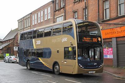 Stagecoach Cumbria 15921 Lonsdale Street Carlisle Sep 18