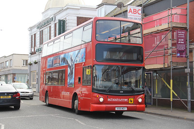 Stagecoach Cumbria 17199 Oxford Street Workington Mar 19