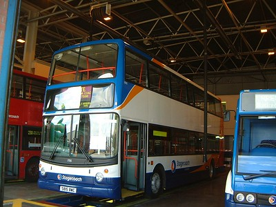 Stagecoach Cumbria 17015 Lilyhall Depot May 03
