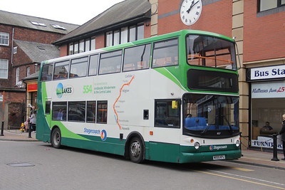 Stagecoach Cumbria 18357 Carlisle Bus Station Mar 19