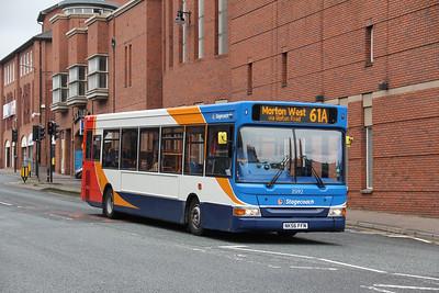 Stagecoach Cumbria 35192 Lowther Street Carlisle Sep 18