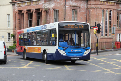 Stagecoach Cumbria 24116 Buccleuch St Dumfries Jan 12