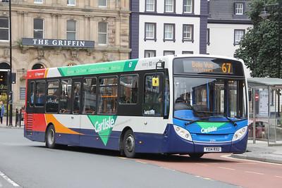 Stagecoach Cumbria 37094 English Street Carlisle Sep 18