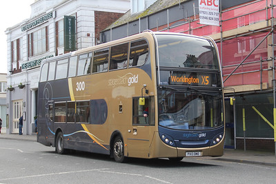 Stagecoach Cumbria 15922 Oxford Street Workington Mar 19
