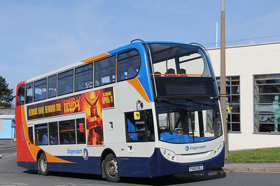 Stagecoach Cumbria 15694 George Street Whitehaven Mar 19