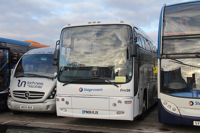 Stagecoach Highlands_Hire Fm39 Seafield Depot Inverness Jan 18