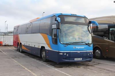 Stagecoach Highlands 54066 Seafield Depot Inverness Jan 18