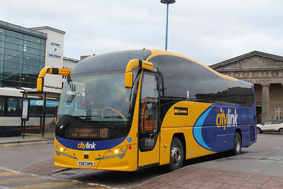 Stagecoach Highlands 54822 Inverness Bus Station Jan 18