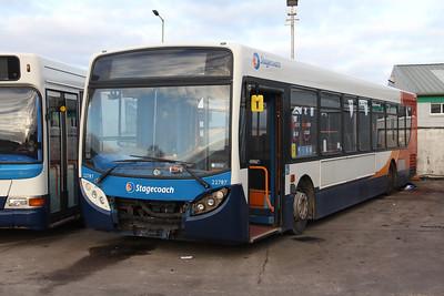 Stagecoach Highlands 22787 Seafield Depot Inverness Jan 18