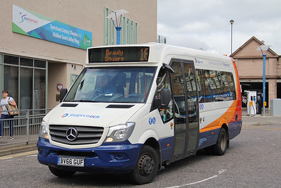 Stagecoach Highlands 44020 Inverness Bus Station Jul 19