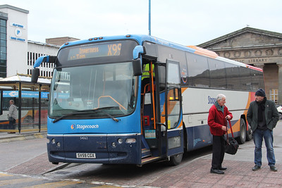 Stagecoach Highlands 54062 Inverness Bus Station Jan 18