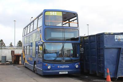 Stagecoach Highlands 17561 Seafield Depot Inverness Jan 18