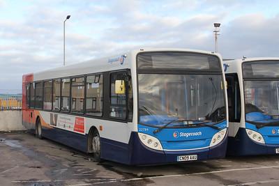 Stagecoach Highlands 22784 Seafield Depot Inverness Jan 18