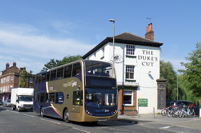 15618 - OU10BGX - Oxford (Park End St) - 27.8.13