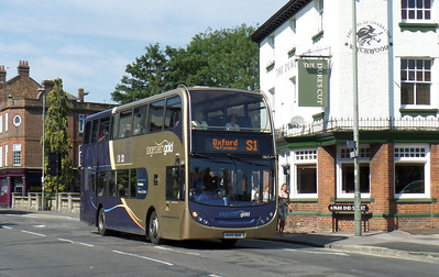15615 - OU10BGK - Oxford (Park End St) - 27.8.13