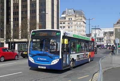 36777 - CN62CNZ - Cardiff (Wood St)