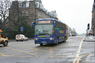 54019 on Queen Street with an M90 for Dundee