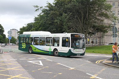29008 arrives at Aberdeen Royal Infirmary from Northfield