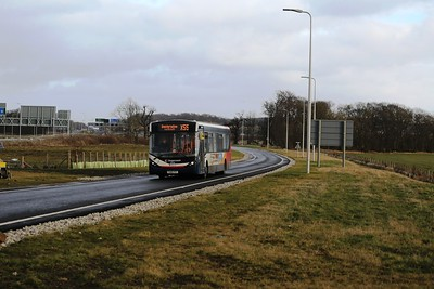 26018 comes off the A90 on the Bus Only link to South Queensferry
