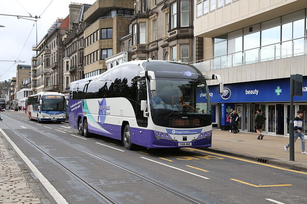 54332 YX66 WNS has an awayday to Edinburgh instead of Glasgow Airport