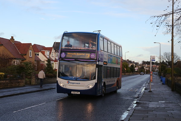 19656 has just sneaked back into the City from Monifieth