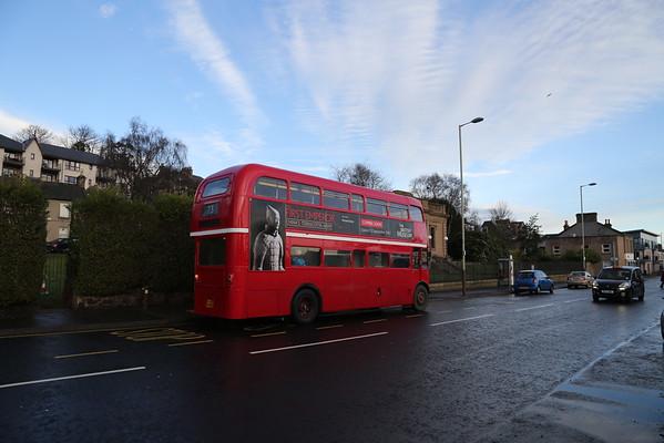 Nice sky.  Nice bus.  Nice bakers (not in shot)