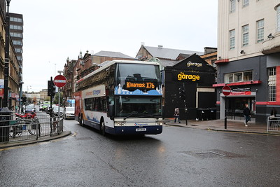 50203 looks to be diverted and is seen on Sauchiehall Street