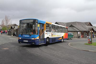 20459 departs Hawkshead