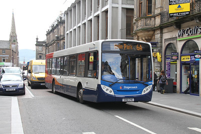 28605 on the soon to be withdrawn 6a on Queensgate, Inverness