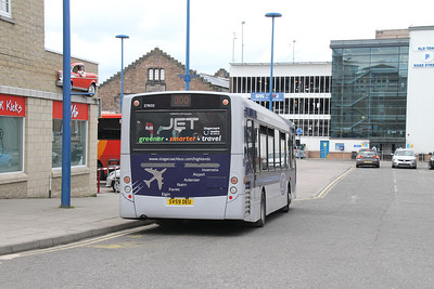 27602 rear view at Inverness bus station